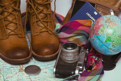 What to take for a trip Royalty Free Stock Images