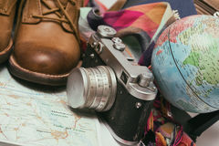 What to take for a trip Stock Photography