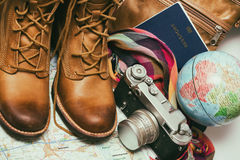 What to take for a trip Stock Image