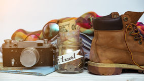 What to take for a trip Stock Photos