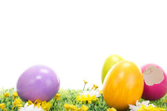 What was in the pink Easter egg? Stock Image