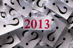 What will happen in 2013 Stock Images