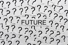 The Future is Unknown Stock Photography