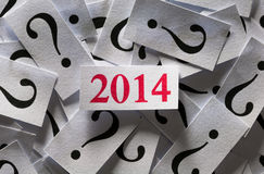 What will happen in 2014 Royalty Free Stock Photography