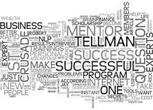 What Will You Accomplish When Wealth Gurus Mentor You For Free Word Cloud Stock Photo