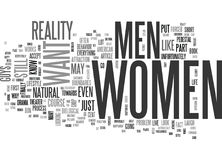 What Women Wantword Cloud Royalty Free Stock Images