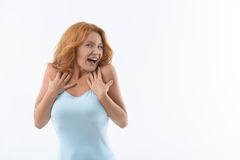 What a wonderful surprise Stock Images