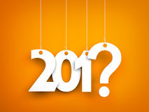 What year next? New year metaphors Royalty Free Stock Photos