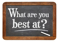 WHat are you best at? Stock Photography