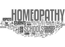 What You Can Learn In Homeopathy Schools Word Cloud Royalty Free Stock Images