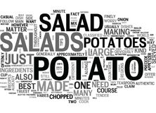 What You Need To Know About Potato Salads Word Cloud Royalty Free Stock Photo