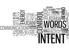 What You Say What They Hear Word Cloud Stock Images