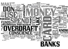 What You Should Know About Those Debit Card Overdraft Fees Word Cloud Stock Images