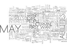 What Are Your Abilities Word Cloud. WHAT ARE YOUR ABILITIES TEXT WORD CLOUD CONCEPT Royalty Free Stock Image