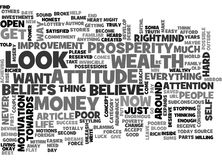 What Are Your Beliefs About Money And Wealth Word Cloud