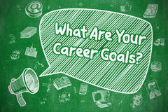 What Are Your Career Goals - Business Concept. Stock Photos