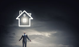 What is your dream house Stock Image