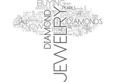 What Your Jeweler Would Not Want You To Knowword Cloud Stock Image
