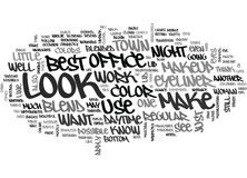 What Your Makeup Will Say About You Word Cloud Royalty Free Stock Photo