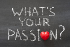 What is your passion Royalty Free Stock Photo
