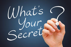What Is Your Secret Royalty Free Stock Images
