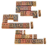 What is your story question royalty free stock photo
