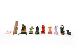 What is your walking style Royalty Free Stock Image