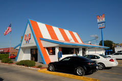 Whataburger restaurant in Texas Royalty Free Stock Images
