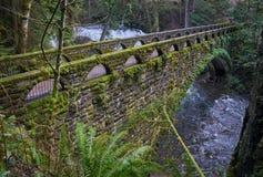 Whatcom Falls Bridge, USA Stock Photos