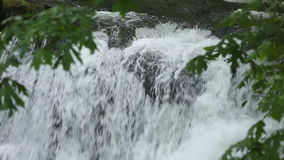 Whatcom Falls Detail, Bellingham Stock Photo