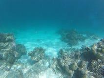whater cristal azul profundo Foto de Stock
