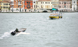 Whater transport in Venice, Italy Royalty Free Stock Photography