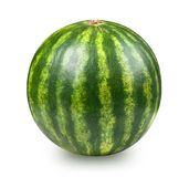Whatermelon isolated on white. Background. Clipping path included Stock Photography