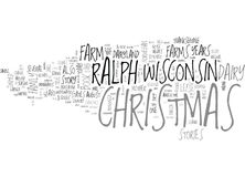 Whatever Happened To Christmas Word Cloud Stock Images