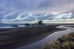 Whatipu regional park. S near to Auckland city, at west coast Stock Image