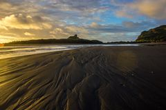 Whatipu regional park. S near to Auckland city, at west coast Royalty Free Stock Images