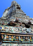 Whatpo temple. Whatpo thailand, one of the tower at the temple Stock Image