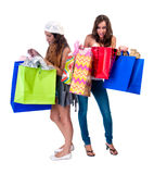 Whats in the bag Royalty Free Stock Photos