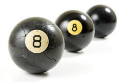 Whats Really Behind The Eight-Ball Stock Images