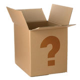Whats in the box Stock Image