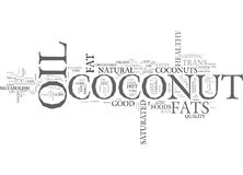 Whats Cool About Coconuts Word Cloud Stock Photos