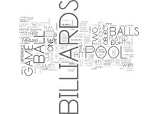 Whats The Difference Between Pool And Billiards Word Cloud. WHATS THE DIFFERENCE BETWEEN POOL AND BILLIARDS TEXT WORD CLOUD CONCEPT Royalty Free Stock Images