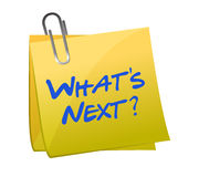 Whats new post it Stock Photos