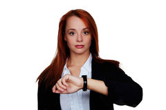 Whats the time Stock Photography