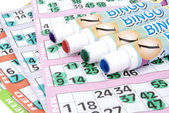 Whats your lucky colour bingo Royalty Free Stock Image