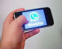 WhatsApp Stock Foto's