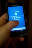 WhatsApp Στοκ φωτογραφία με δικαίωμα ελεύθερης χρήσης
