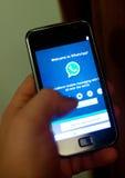 WhatsApp Στοκ φωτογραφίες με δικαίωμα ελεύθερης χρήσης