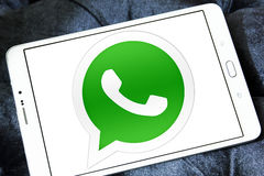 Whatsapp logo Royaltyfria Foton