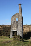 Wheal Betsy Silver-Lead Mine. Remains of an Ancient Silver-Lead Mine on the edge of Dartmoor Stock Photos